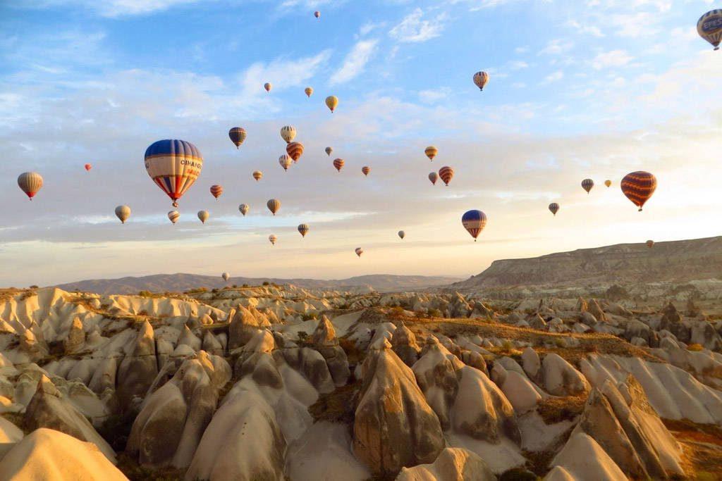 Capadocia en Turquía es un lugar único en el mundo