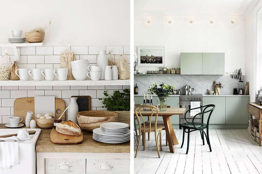 Cocinas nórdicas en la decoración y el diseño de espacios interiores