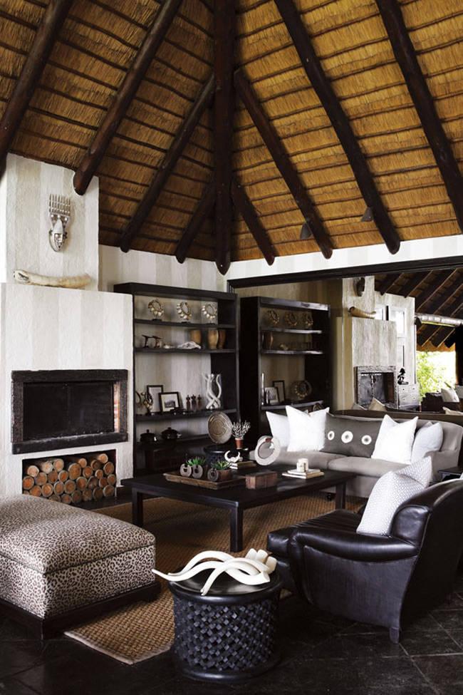 La decoración de estilo africano