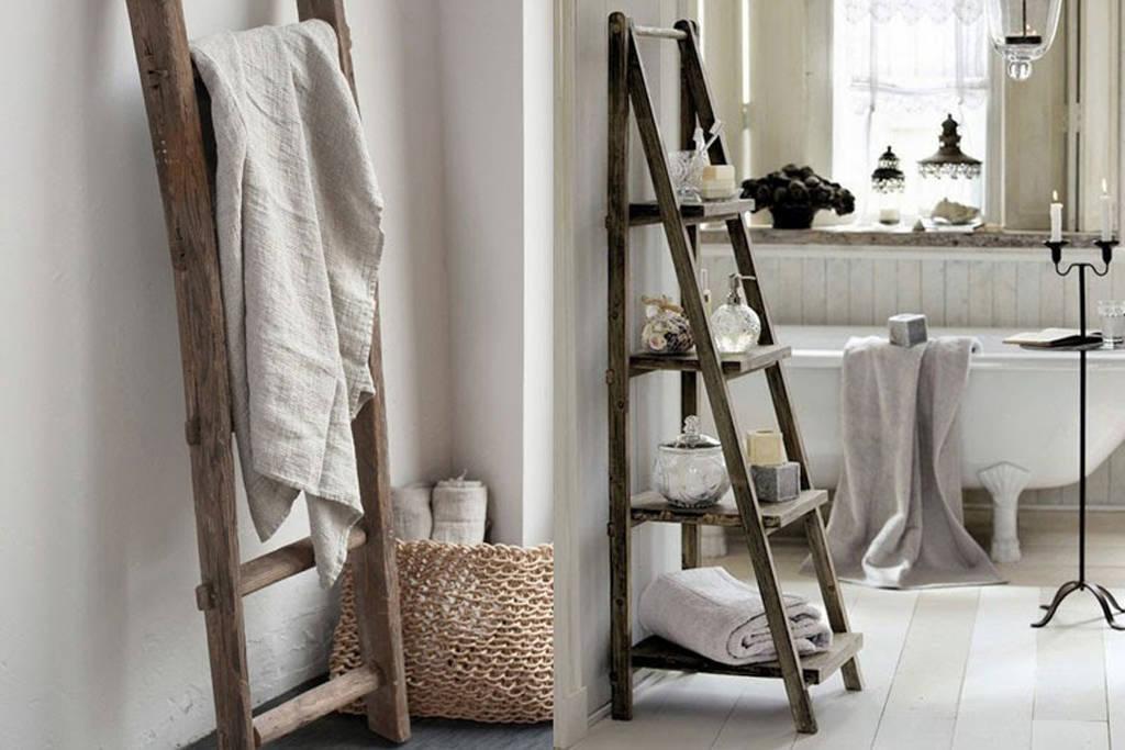 Escaleras decorativas para decorar el hogar
