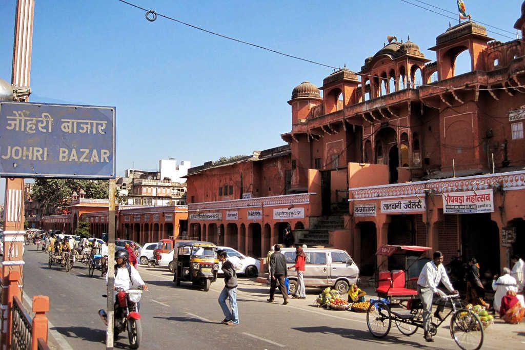 La ciudad de Jaipur en la India