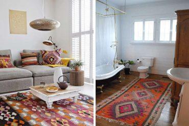 Kilims en la decoración del hogar