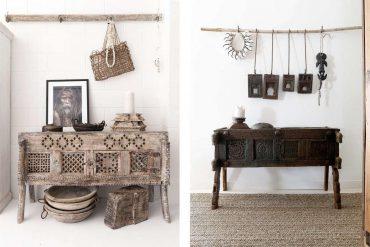 muebles de la india en la decoración del hogar