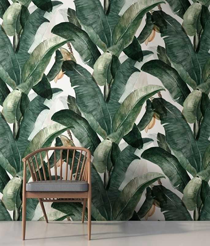 papel pintado tropical vas a flipar nomadbubbles