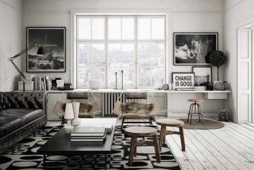 Salones nórdicos en la decoración del hogar