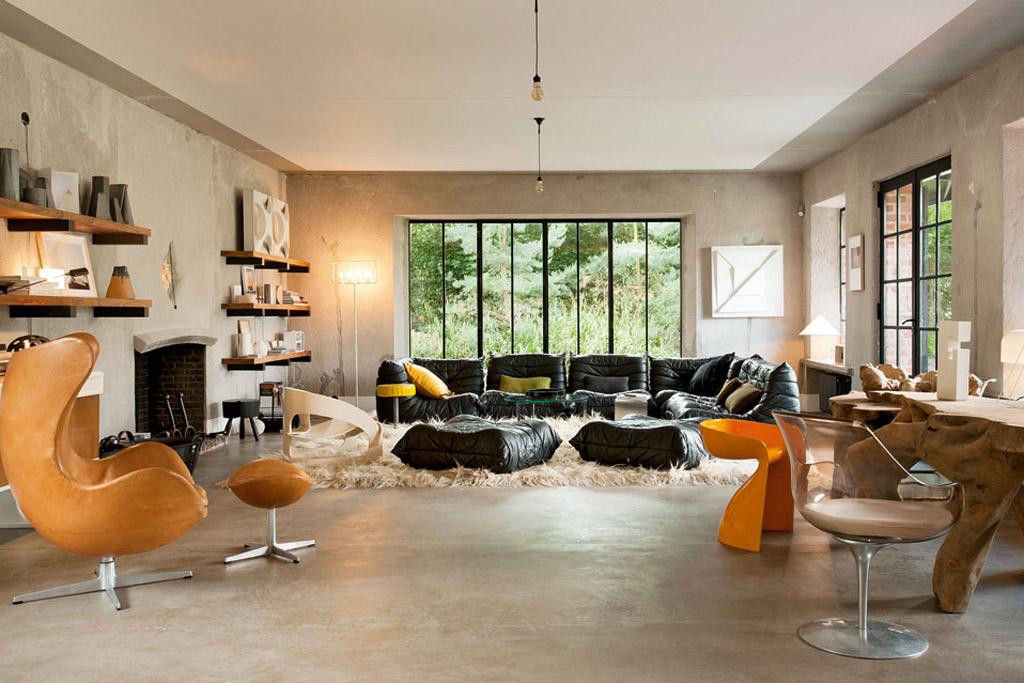 La silla o sillón egg de Arne Jacobsen