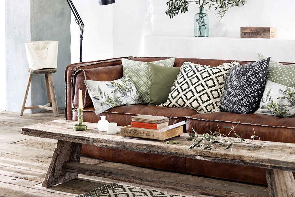 cojines de estilo étnico para la decoración del hogar