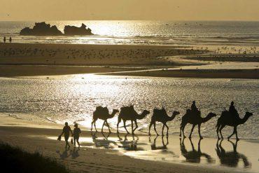 Playas de Essaouira en Marruecos