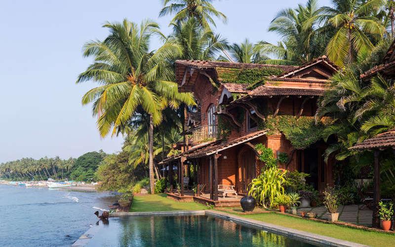 El hotel Ahilya en Goa, India