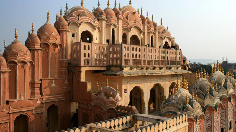 El palacio de los vientos en Jaipur