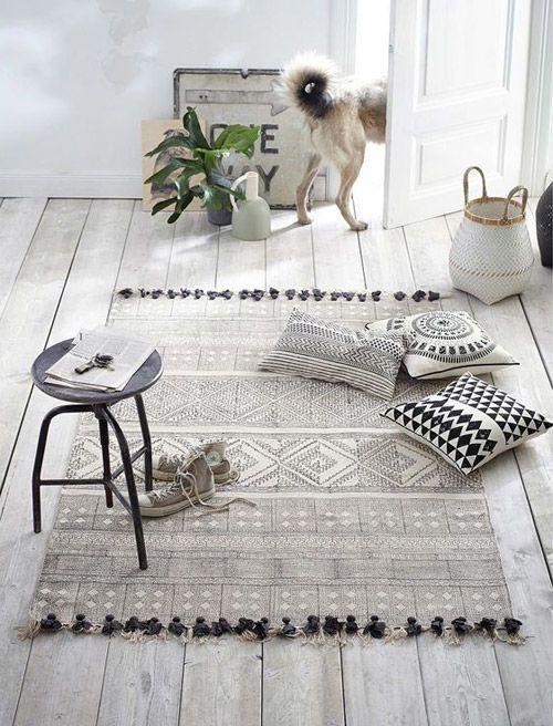 Decoración con alfombras en el hogar