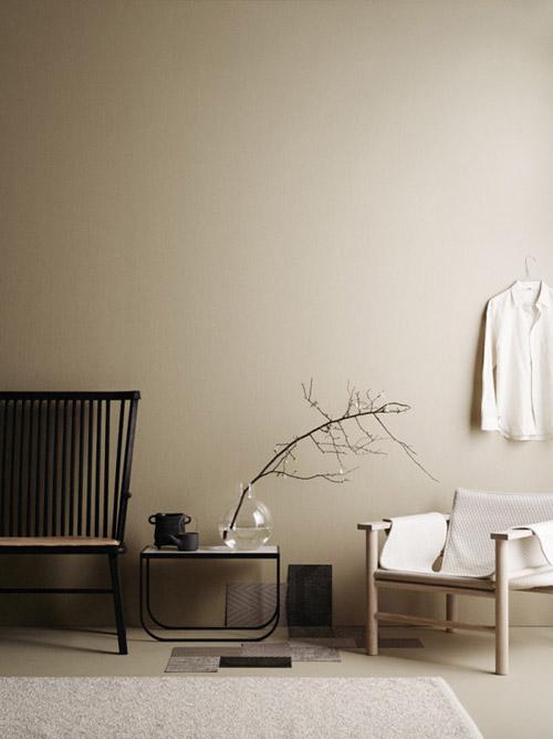 paredes de interiores con el color beige