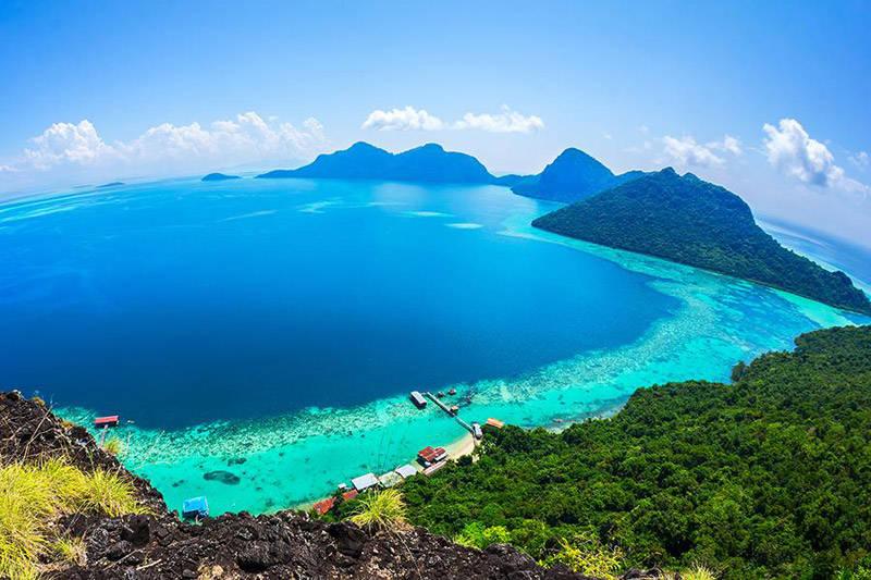 Costa de la Isla de Borneo