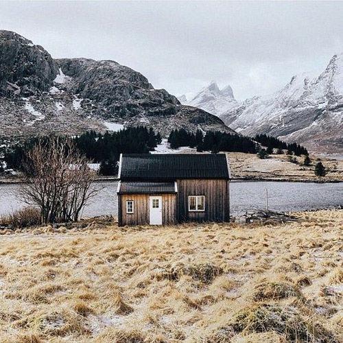 Casas de madera en los países escandinavos