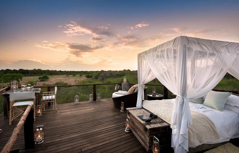 Dormir bajo las estrellas en África