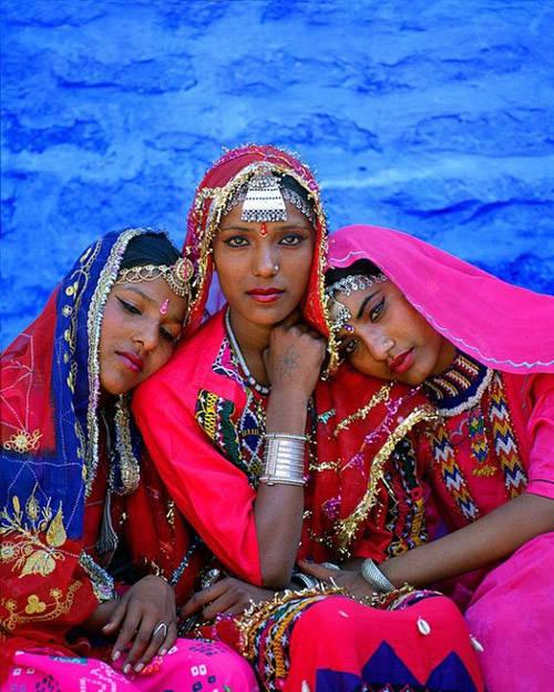 Mujeres de la ciudad de Jodhpur
