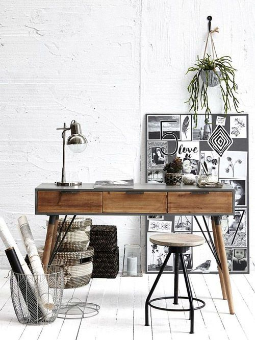 mesa de diseño escandinavo