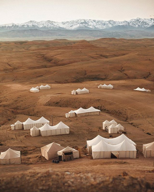 Scarabeo Camp desierto