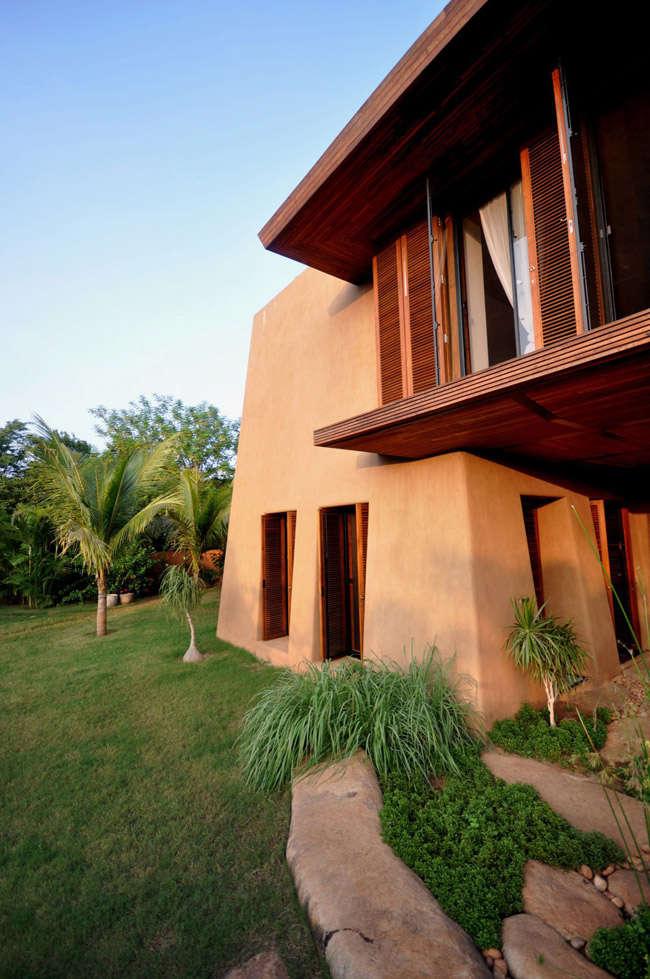 Una villa en el sur de la India