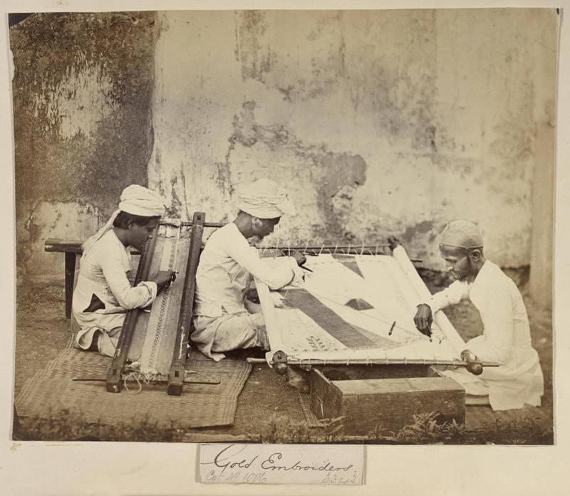 La tradición textil en la India