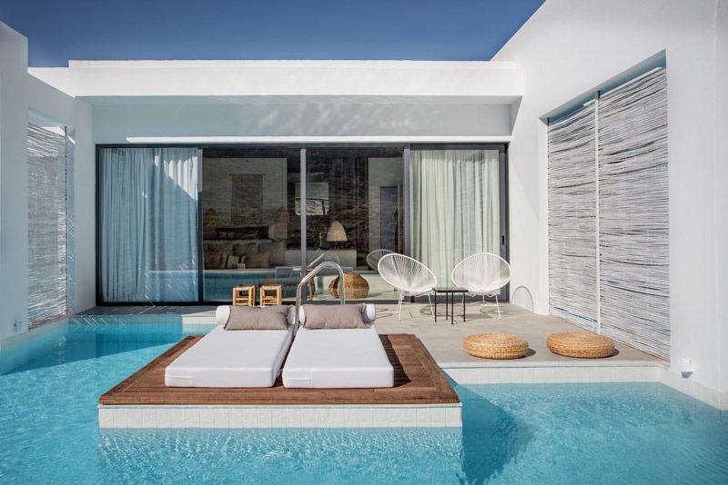 sillas Acapulco en el hotel casa Cook
