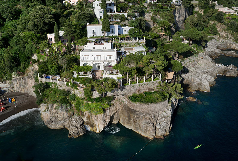 Los mejores hoteles en la Costa Amalfitana
