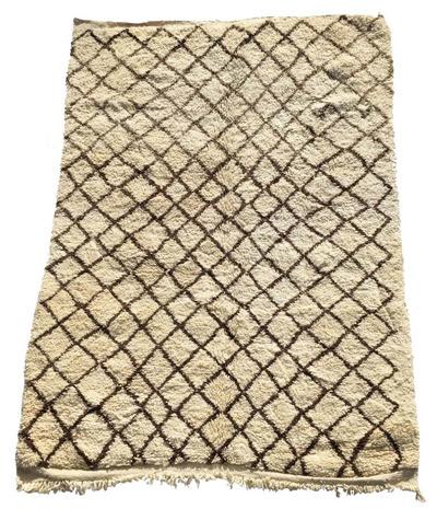 patrones y diseños de la alfombra beni ouarain