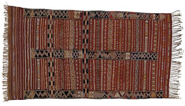Kilim antiguo marroquí