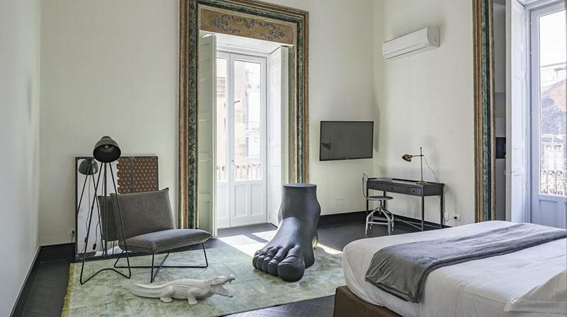 hotel de diseño en Sicilia