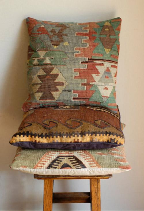 fundas kilim para la decoración del hogar