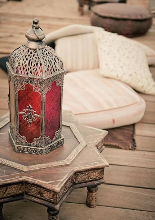 Candelabros marroquís