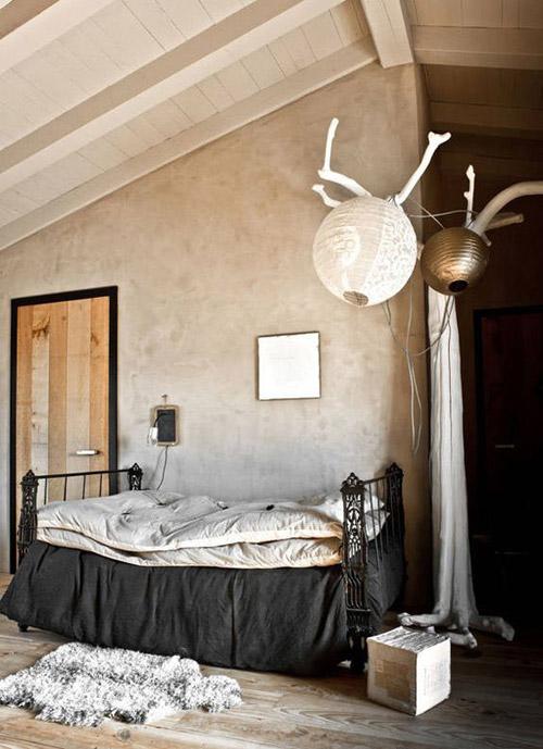 interiores pintados con el color beige