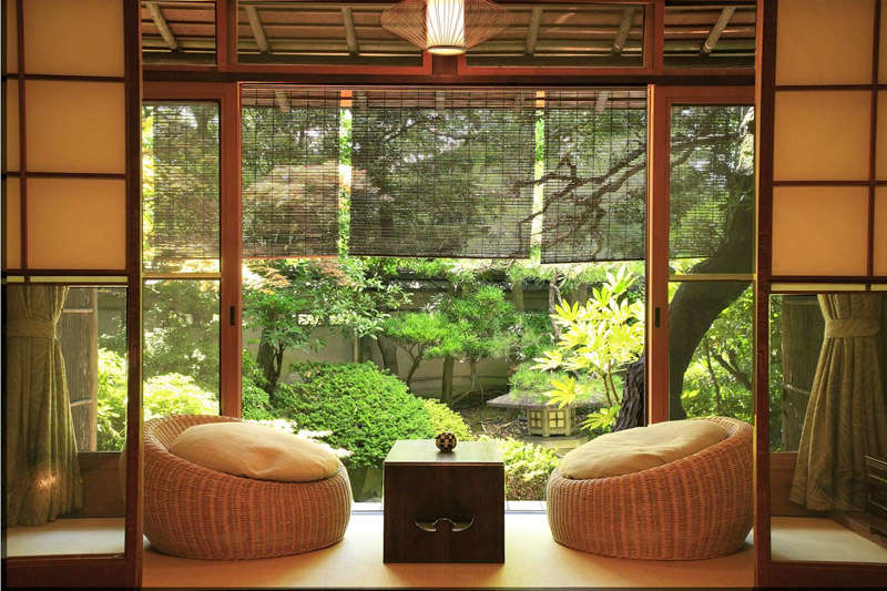 La naturaleza en los espacios de inspiración Zen