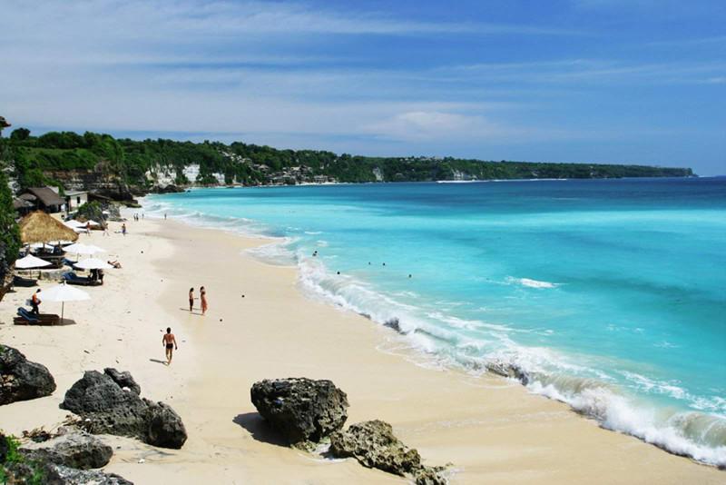 La playa de Kuta en Bali