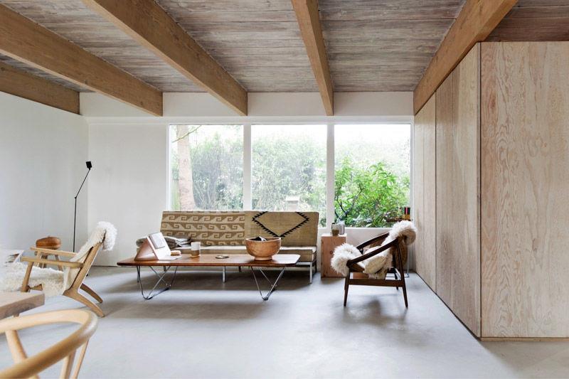 Una preciosa casa de madera de estilo nórdico