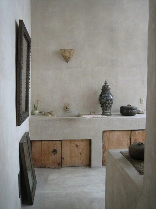 Tadelakt impermeable para baños