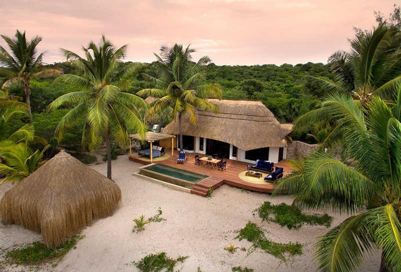 resorts de lujo en la isla de benguerra