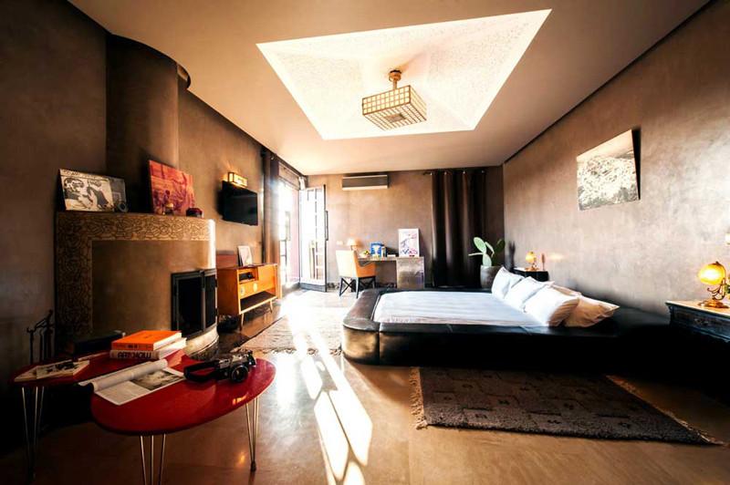 Hotel Fellah dormitorio
