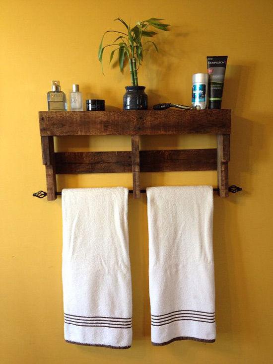 muebles hechos con palets: ideas y tutoriales - nomadbubbles - Muebles Toalleros Para Banos