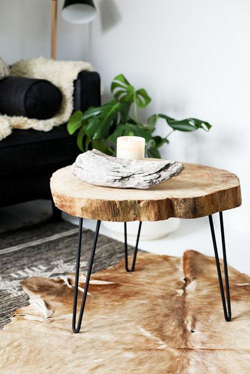 Decoraci n con troncos y ramas secas nomadbubbles - Decoracion troncos madera ...