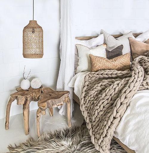Troncos de madera para el diseño de interiores