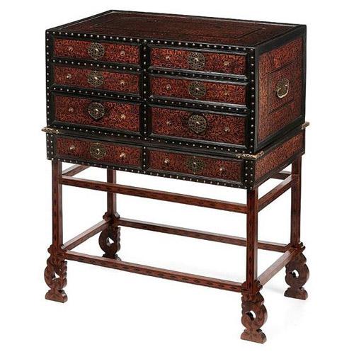 Mueble antigo indio portugues