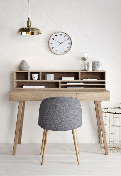 Muebles de madera de estilo escandinavo