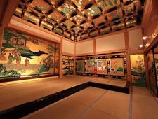 Techo en una casa japonesa tradicional