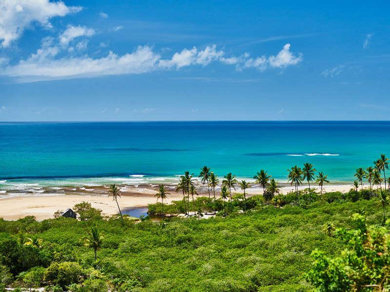Playas de Trancoso en Brasil