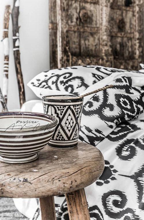 decoración étnica en el hogar