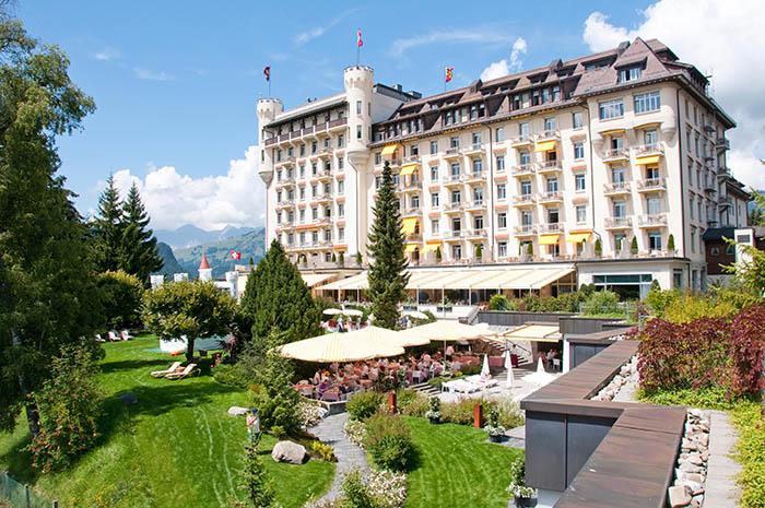 los mejores hoteles en gstaad