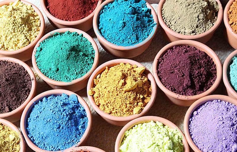 Pigmentos para tadelakt