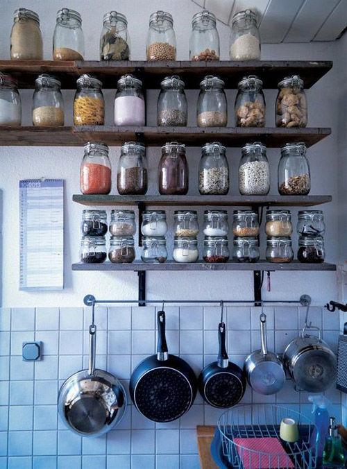 Estantes para cocinas pequeñas