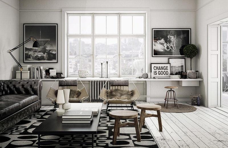 orden y funcionalidad en el hogar escandinavo